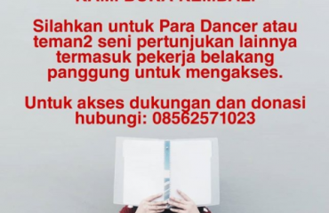 DUKUNGAN BUKU PARADANCER | DUKUNGAN BUKU DAN WORKSHOP PARADANCE PLATFORM